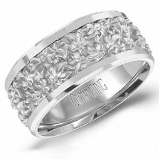 Crown Ring - Collections Wedding Bands Handwoven Hw 6111 M10