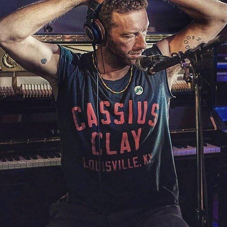 Chris Martin being sexy