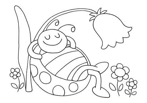 Coloriage Maternelle Ete - Les beaux dessins de Meilleurs Dessins à imprimer et…