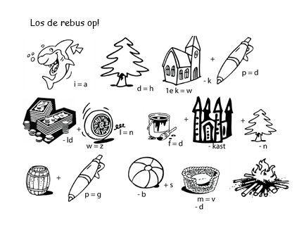 Rebus - Pinksteren [kerkboekje.nl]: - rebussen | Pinterest