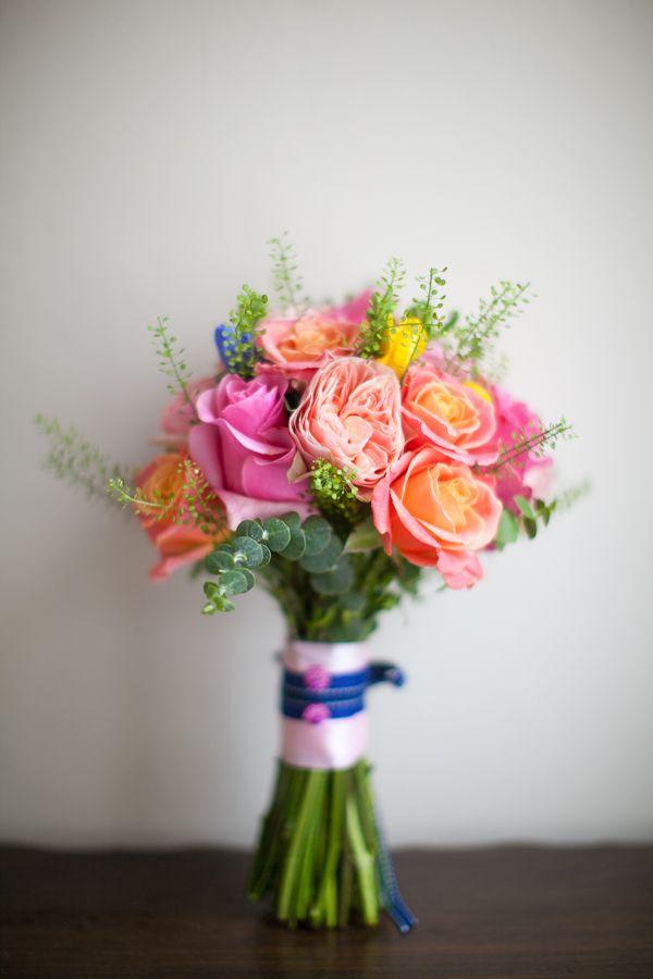 Colourful Fun Candy Wedding Bouquet http://www.julietteharrison.co.uk/