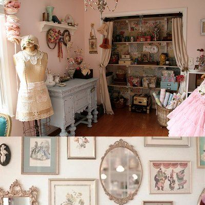 10 best images about chic office nook on pinterest - Cocinas estilo shabby chic ...