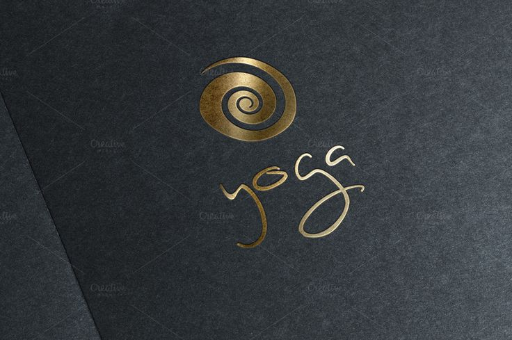 Yoga logo by Sonne on @creativemarket…