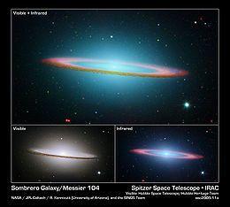 Galassia Sombrero - Wikipedia