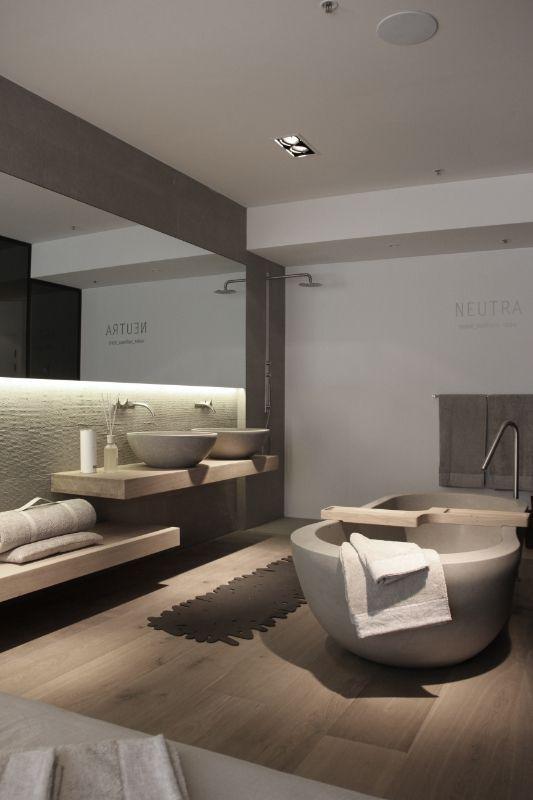 une salle de bain contemporaine design dintrieur dcoration maison luxe - Salle De Bain Contemporaine Luxe