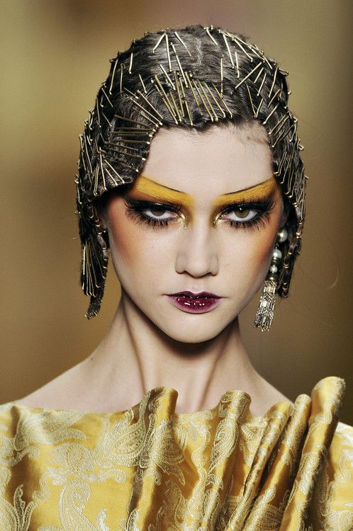 runway makeup twenties - Google Search