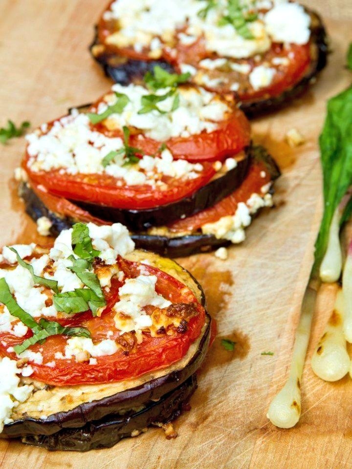 Баклажаны, запеченные с помидорами и сыром - Kurkuma project (Проект Куркума) На мой взгляд, просто идеальная закуска или гарнир к чему угодно.