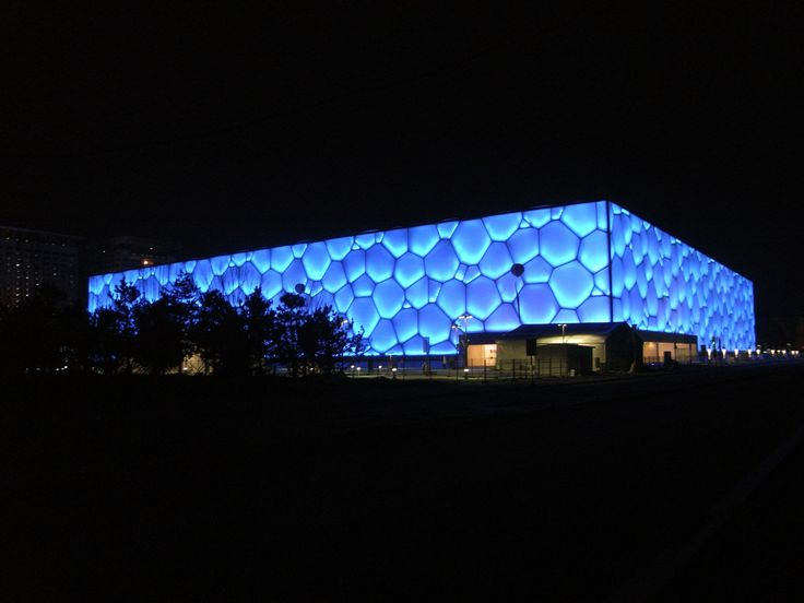 Watercube – National Swimming Centre. Firm: PTW Architects; location: Beijing, China; Type: Hospitality + Sport › Sports Center; year: 2008; award: CSCEC + PTW + CCDI and ARUP won the International Design Competition for the Beijing 2008 Games aquatic centre.