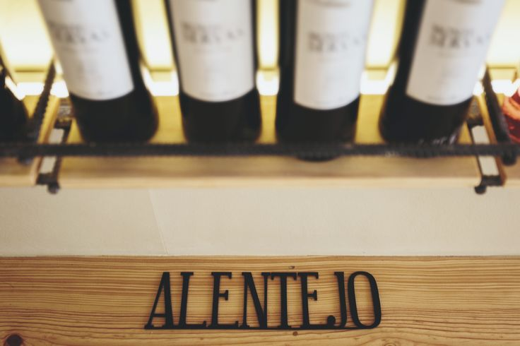 Alentejo wines at Mercearia
