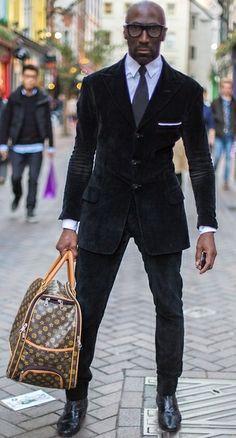 118 best images about black men style on Pinterest | Men's suits ...