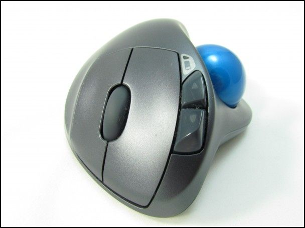 Trackball Mouse with Scroll Wheel