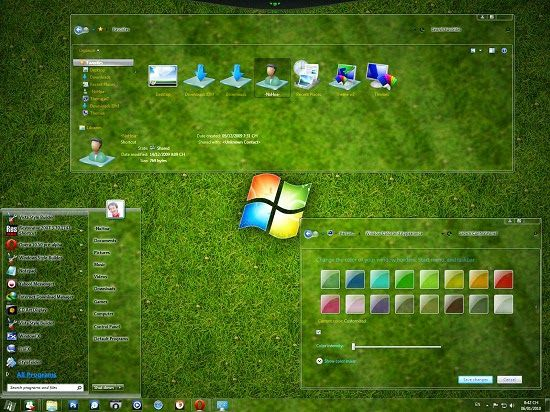 Neo Download: Glass Skin Pack For All Windows Free Download