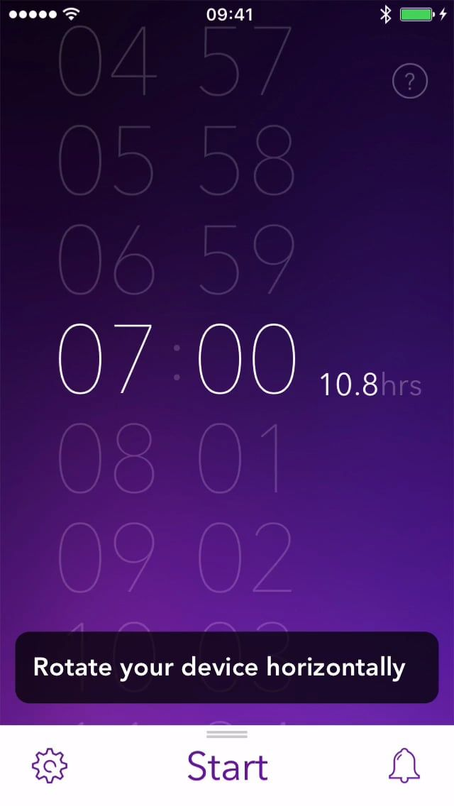 Viewing your detailed sleep statistics in Pillow #sleep #ios #app #how_to