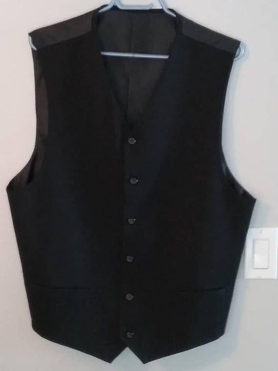 Men's Formal Vest, Classic Vest, Men's Classic Formal Vest, Gentleman's Waistcoat, Steampunk Waistcoat, Classic Vintage Vest, Steampunk