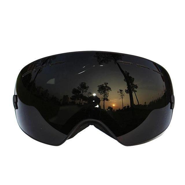 New Snowboard Ski Goggles Anti Fog Dual Protection UV Double-Lens Skiing Glasses