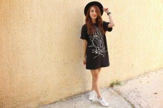 Adidas X t-shirt dress!