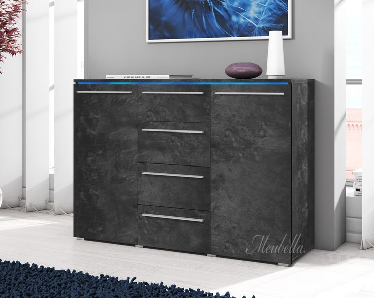 1000 idee n over grijs op pinterest grijze slaapkamers for Dressoir kast slaapkamer