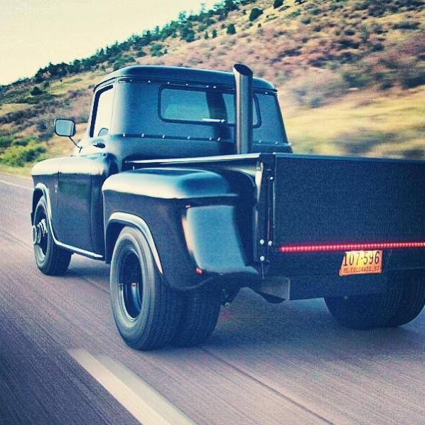 Them Old Trucks Tho, sick with that fat stack!!!