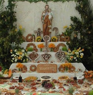 The Tradition of the St. Joseph's Day Altar-this pin tells all about why Sicilians celebrate this day!