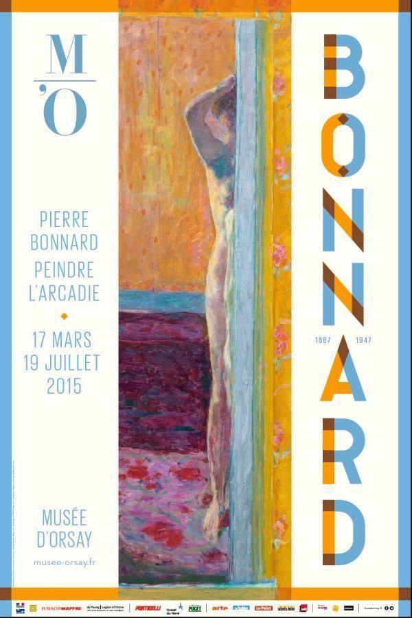 Pierre Bonnard (1867-1947) : peindre l'Arcadie. Paris, Musée d'Orsay. Du 17 mars au 19 juillet 2015.