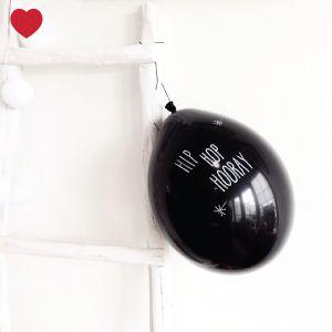 Zwarte-ballonnen