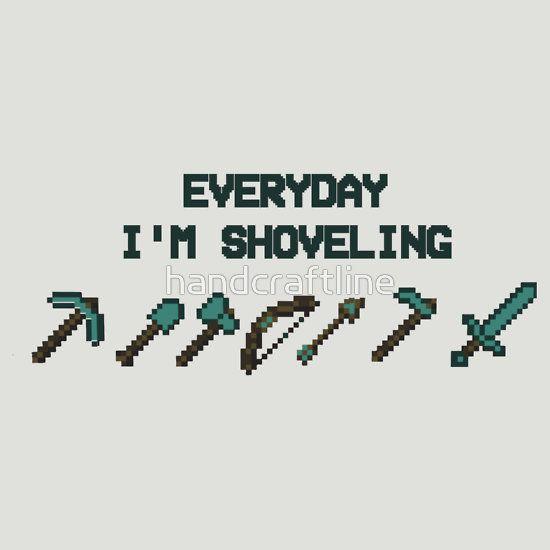 Minecraft-shoveling II