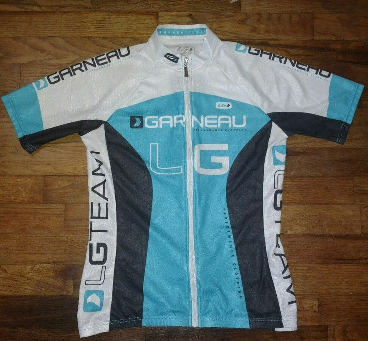 Louis Garneau Team Performance Clothing Womens Medium Cycling Jersey Full Zip