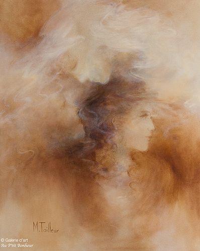 Madeleine Tailleur, 'Trinité', 24'' x 30''   Galerie d'art - Au P'tit Bonheur - Art Gallery