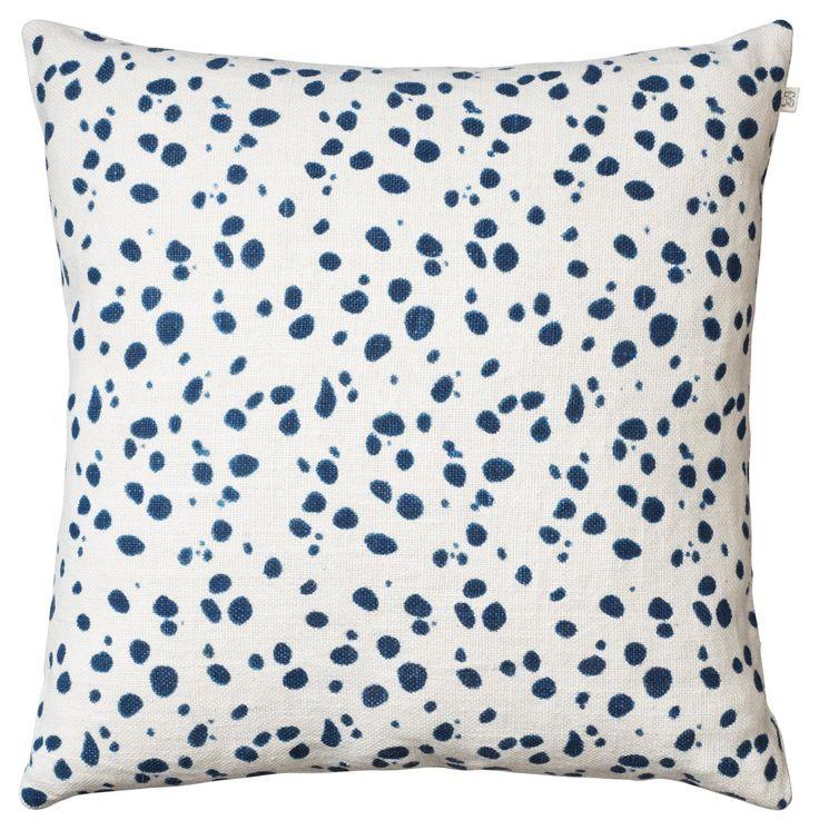 Chhatwal & Jonsson | Kuddfodral Tiger Dots Blue | Matilde & Co | Handla online