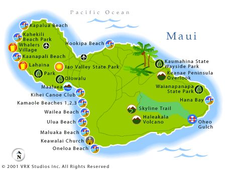Map of Maui anne@worldtravelspecialists.biz http://www.worldtravelspecialists.biz/aeriole