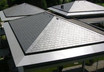 Malowany dach...