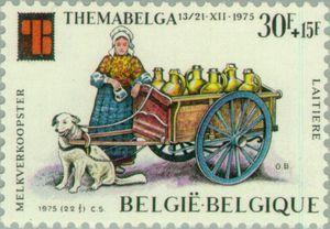 Milkwoman at Flandres