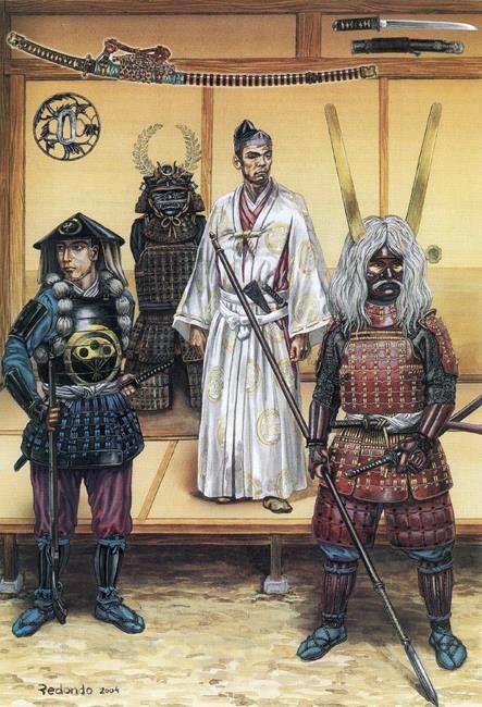 • Ashigaru Harquebuser  • Tokugawa Ieyasu  • Li Naotaka  José Ignacio Redondo