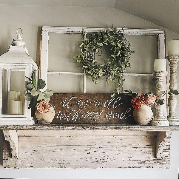 Do you love farmhouse style decor? It is one of my favorite styles for home design and I have some amazing home inspiration to share today! #farmhouse…