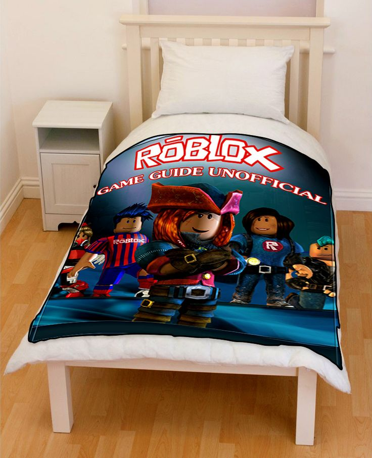 Roblox Game Bedding Throw Fleece Blanket In 2019 Fleece