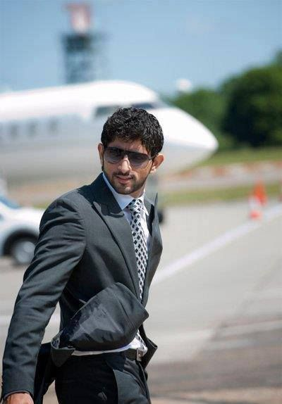 Sheikh Hamdan bin Mohammed bin rashid al maktoum prince of ...