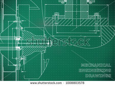 Technical illustration. Mechanical engineering. Backgrounds of engineering subjects. Light green background. Points #bubushonok #art #bubushonokart #design #vector #shutterstock #pattern #card #holidays #doodle #holiday #banner