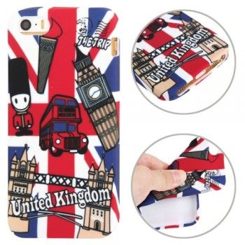 iPhone 5/5S Cases : UK Flag Pattern TPU iPhone 5 & 5S Case
