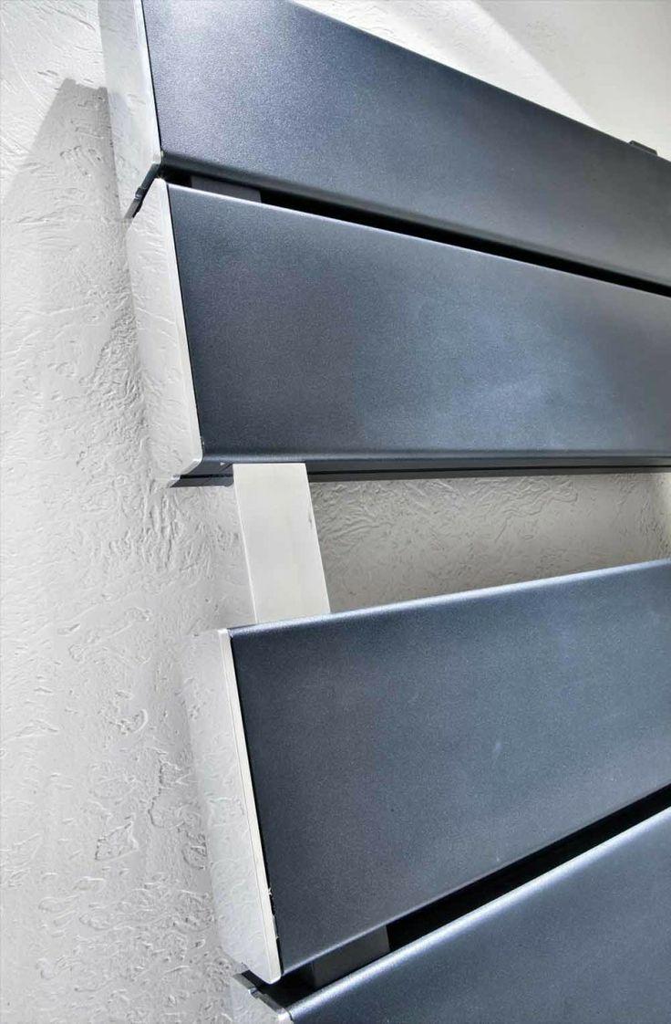 Detail of Blok Bath  #home #radiator #design #aluminum #interiordesign #forniture