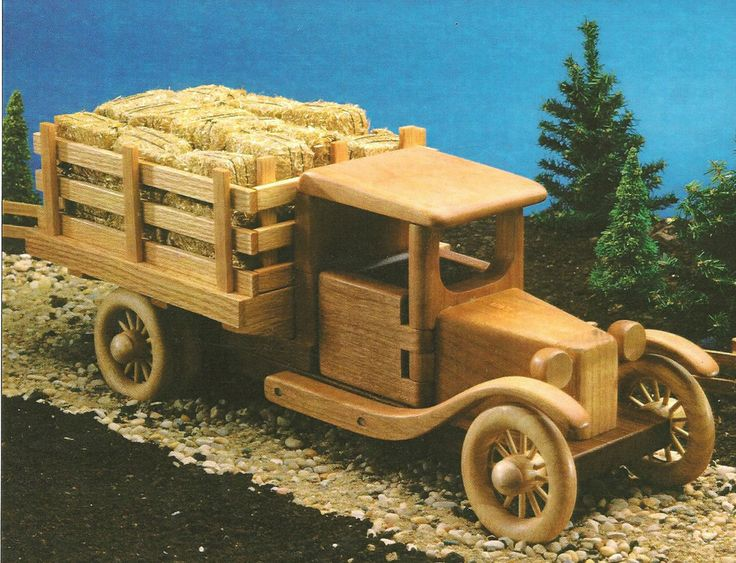 Wooden Toy Truck Plans : Wooden toy farm truck plans woodworking projects