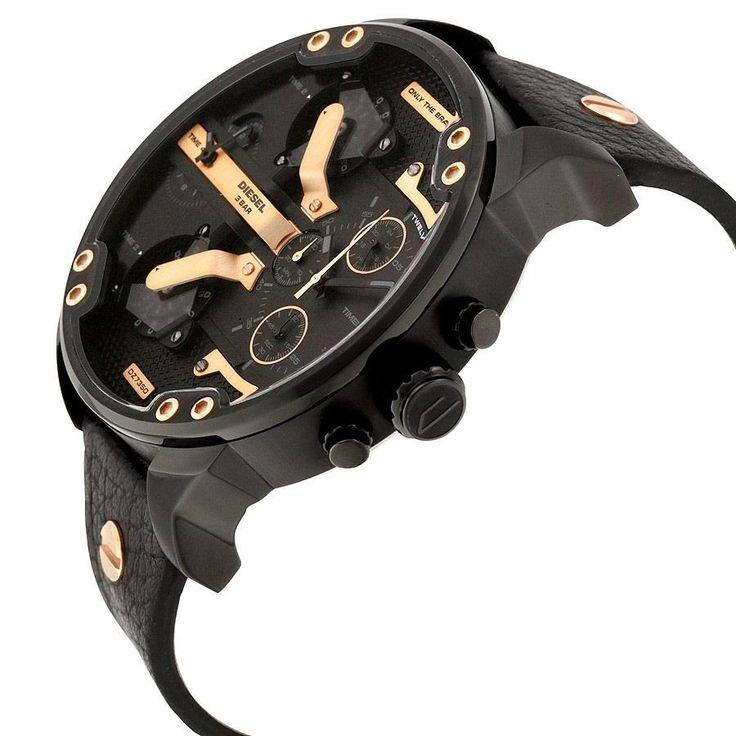 Relógio Diesel Masculino Ref: Dz7350/0pn Big Case
