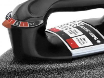 Ferro de Passar a Seco Black&Decker VFA Eco - Preto com as melhores condições você encontra no Magazine Ovendedorsandro. Confira!