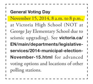 Hey Fernwood--why not vote for a change?