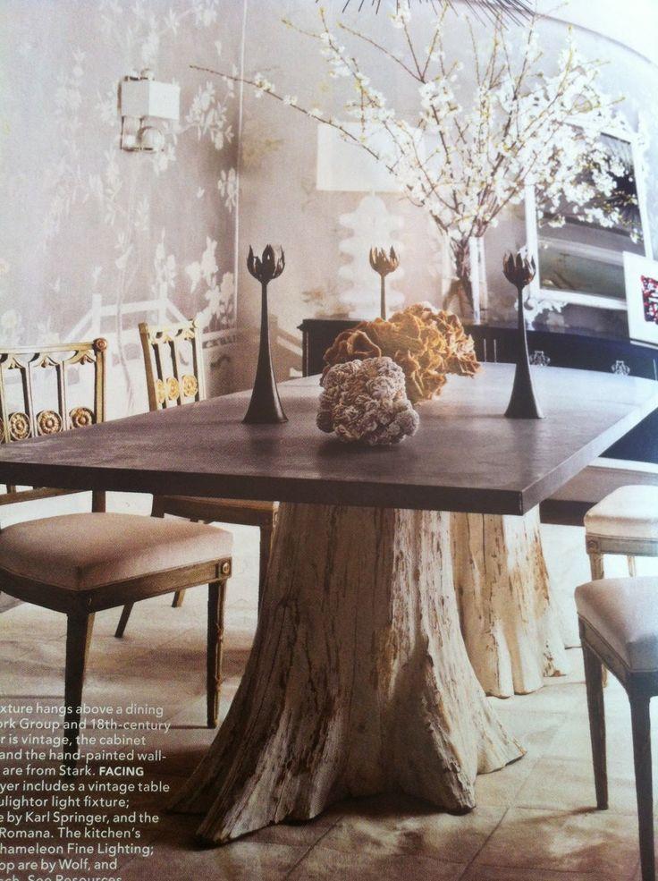 Best 25 Tree Trunk Table Ideas On Pinterest Tree Table
