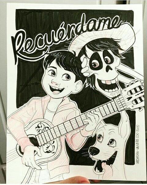 Hector Y Miguel Rivera De Coco Pixar Animated Movies Disney And Dreamworks Cartoon