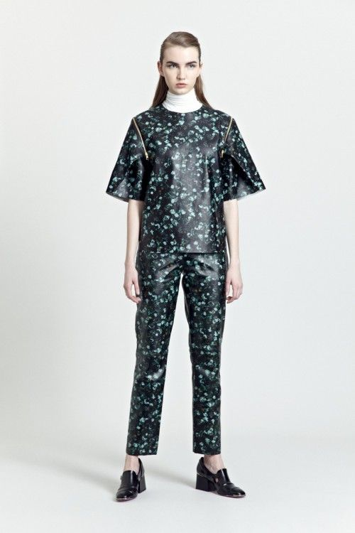 Siloa & Mook AW13: Avra Top, Alva Trouser.  #siloamook #fashionflashfinland #fashion #fashiondesigner #designer #aw13 #collection #Finland #Helsinki