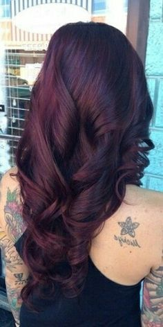 Black cherry hair color                                                                                                                                                     More