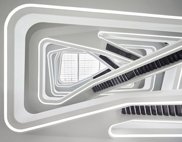 Dominion Office Building in Moscow. Zaha Hadid Architects