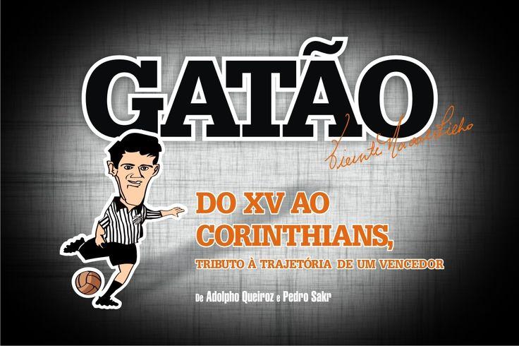 """#EventonaCia  A CIA. CONVIDA!   Para o lançamento do livro """"Gatão, do XV ao Corinthians – Tributo à trajetória de um vencedor"""", dos autores Adolpho Queiroz e Pedro Sakr.  Data: 11/06/2015.  Horário: Das 17h30 às 20h.  Local: Rua da Consolação, 896 – Higienópolis – São Paulo – SP. (Livraria Cia. dos Livros – Mackenzie).  Telefones: (11) 3129-9043 / 3129-4319    Contamos com a sua presença, leitor! ;-) 8-)"""