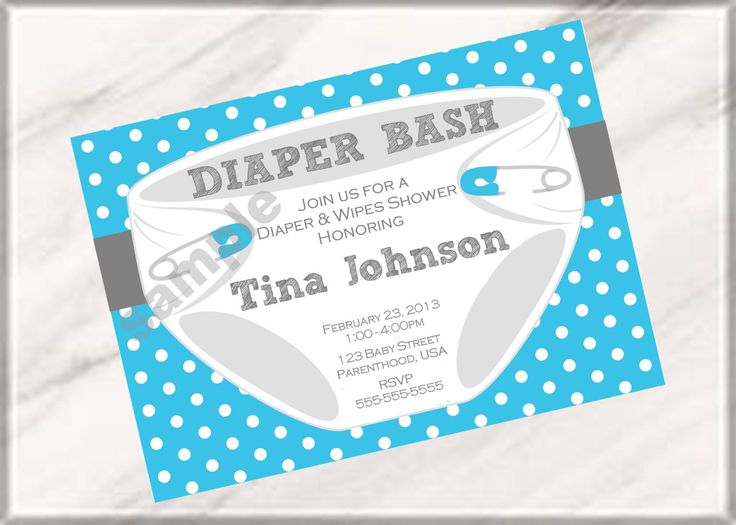 Charming Diaper Bash Party Baby Shower Or Sprinkle Invitations (Digital Printable  File). $7.00,